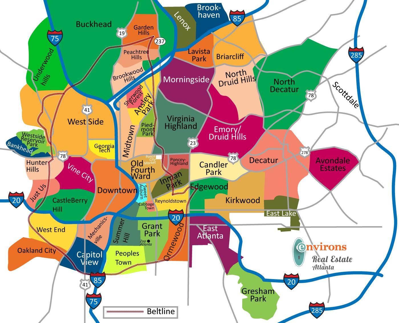 Ga Laanin Kartta Ga Kartta Yhdysvallat
